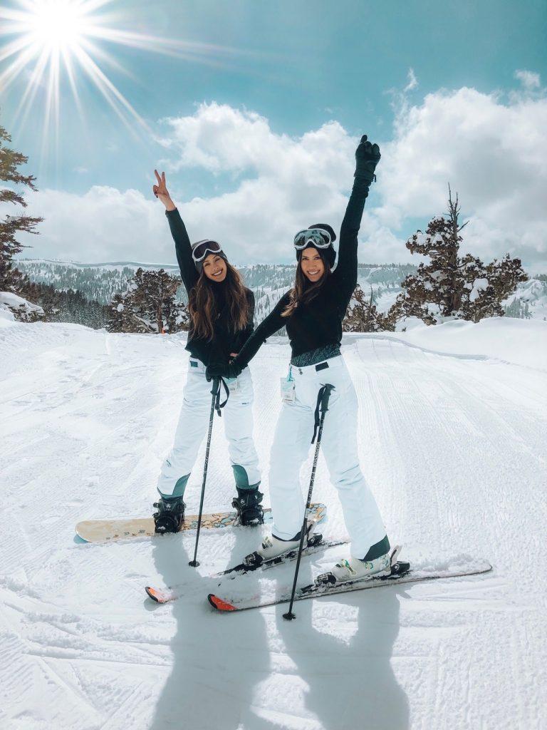 Partir au ski avec des adolescents