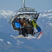 Station de ski famille