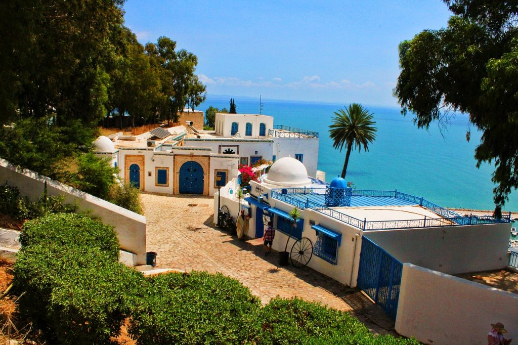 Tunis sidi bou said